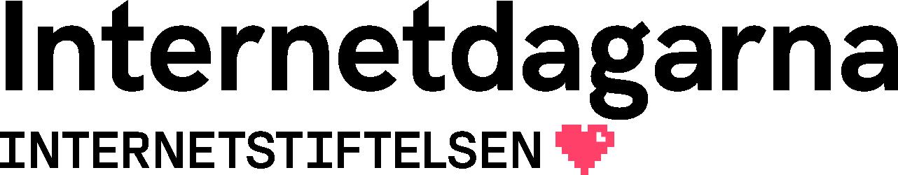 Logotoypen för Internetdagarna av Internetstiftelsen
